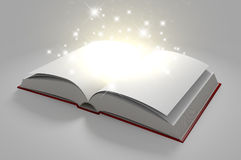 Blank Paged Magical Book Royalty Free Stock Photography