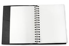 Blank pages Stock Photography