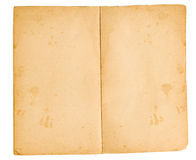 Blank Pages From Faded Book (XXL) Royalty Free Stock Images