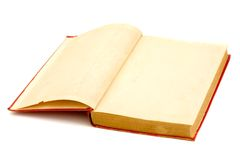 Blank pages of a old book Royalty Free Stock Image