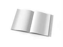 Blank paper Stock Image
