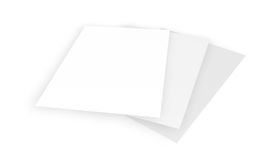 Blank paper Stock Images