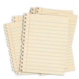 Blank paper Stock Photos