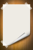 Blank paper background Stock Photos