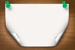 Blank paper background Stock Image