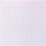 Blank paper background - blue grid pattern Royalty Free Stock Image