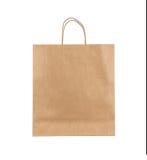 Blank paper bag royalty free stock photos