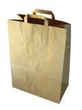Blank paper-bag Stock Photos
