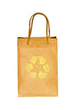 Blank paper bag Stock Photos