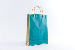 Blank paper bag. Stock Photos