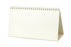 Blank paper calendar Stock Images