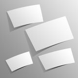 Blank Paper Design Royalty Free Stock Image