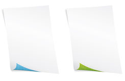 Blank paper. Environment concept. Royalty Free Stock Photo