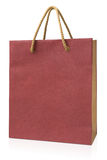 Blank paper gift bag Stock Photo