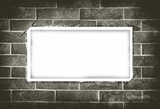 Blank paper on grunge background Royalty Free Stock Image