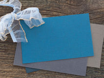 Blank paper note Royalty Free Stock Photo