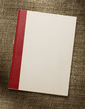 Blank paper notebook Stock Image