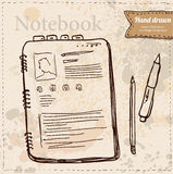 Blank Paper with Notebook Vector Stock Photos