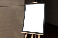 Blank  paper poster frame Stock Image