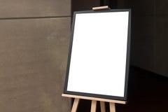 Blank  paper poster frame Stock Image