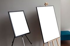 Blank  paper poster frame Royalty Free Stock Image