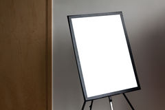 Blank  paper poster frame Royalty Free Stock Photo