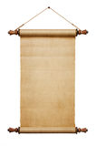 Blank Paper Scroll Royalty Free Stock Image