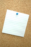 Blank paper sheet Stock Photography