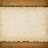 Blank paper sheet on grunge background Stock Photography