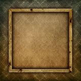 Blank paper sheet in picture frame Royalty Free Stock Photography