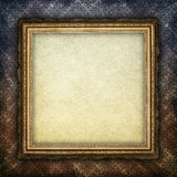 Blank paper sheet in picture frame Royalty Free Stock Images