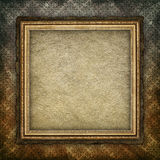 Blank paper sheet in picture frame Royalty Free Stock Image
