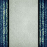 Blank paper sheet on retro background Royalty Free Stock Photos