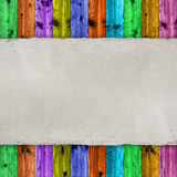 Blank paper sheet on wooden background Royalty Free Stock Photography