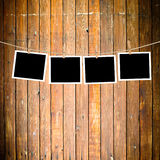 Blank paper sheets Stock Images