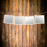 Blank paper sheets Royalty Free Stock Images