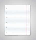 Blank paper sheets Royalty Free Stock Image