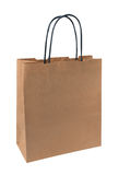 Blank paper shopping bag Royalty Free Stock Image