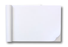 Free Blank Paper Tablet Royalty Free Stock Photo - 22299215