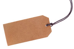 Blank paper tag Stock Images