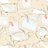 Blank papers background Royalty Free Stock Photo