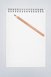 Blank papers Stock Photography