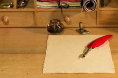 Blank parchment Royalty Free Stock Photos