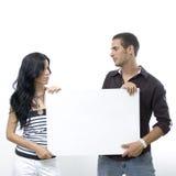 blank parholding för baner Fotografering för Bildbyråer