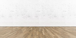 Free Blank Part Of White Painted Brick Wall With Wooden Royalty Free Stock Photo - 62885925