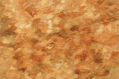 Blank particle board or feather like brown pattern as full frame Royalty Free Stock Photo