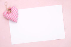 Blank party invite Stock Image