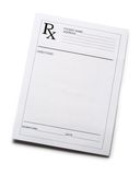Blank patient list Royalty Free Stock Photos