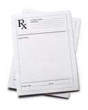 Blank patient lists Stock Photos