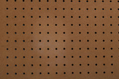 Blank pegboard Stock Photo